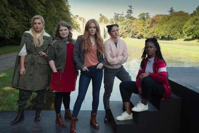 Una scena di The Winx Saga Netflix