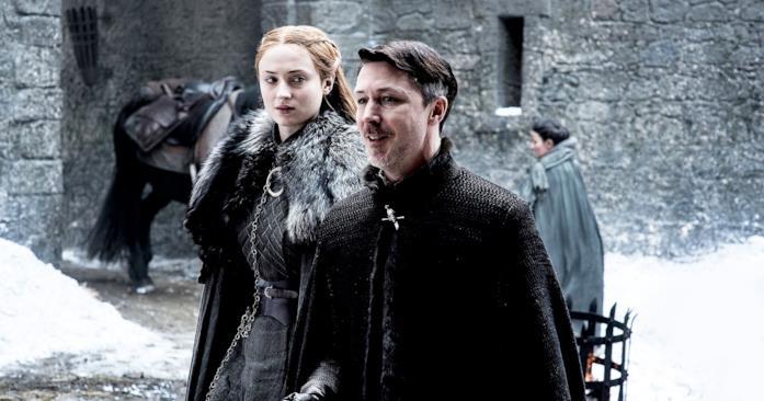 Sansa e Lord Baelish a Grande Inverno