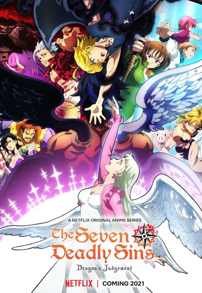 The Seven Deadly Sins poster quarta stagione