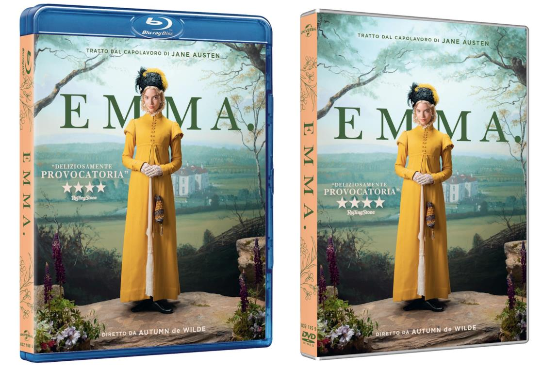 Le edizioni Blu-Ray e DVD italiane