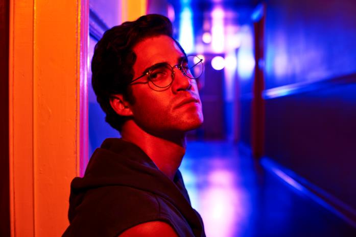 Darren Criss nel ruolo di Andrew Cunanan in American Crime Story: The Assassination of Gianni Versace