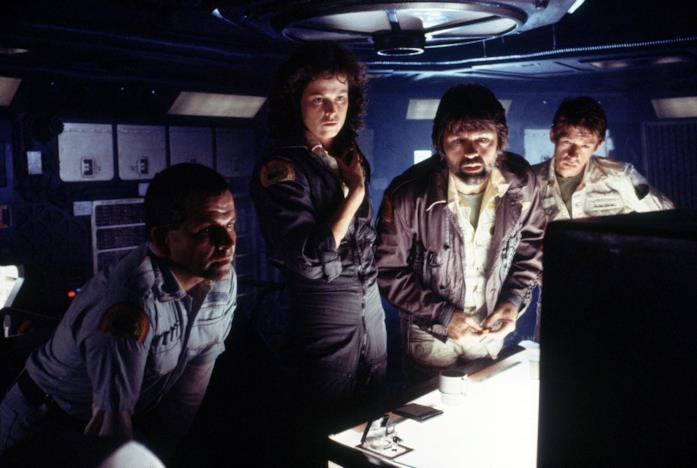 Ian Holm, Sigourney Weaver, Tom Skerrit e John Hurt