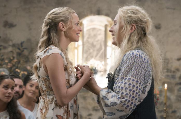 Amanda Seyfried e Meryl Streep in Mamma Mia!