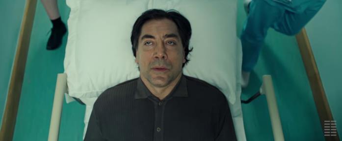 Javier Bardem protagonista del film The Roads No Taken