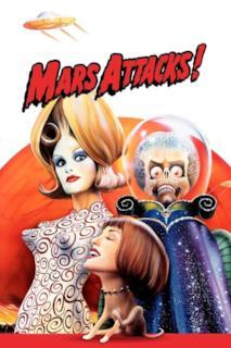 Poster Mars Attacks!