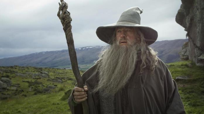 Gandalf Il Grigio in Il Signore degli Anelli - La compagnia dell'anello