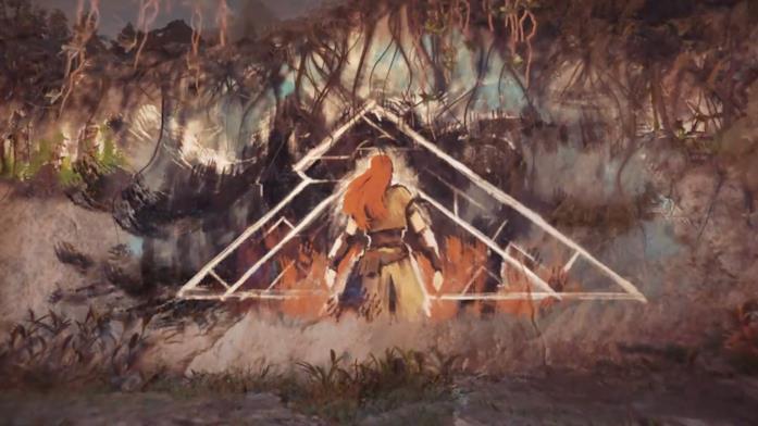 Un'illustrazione di Horizon: Zero Dawn