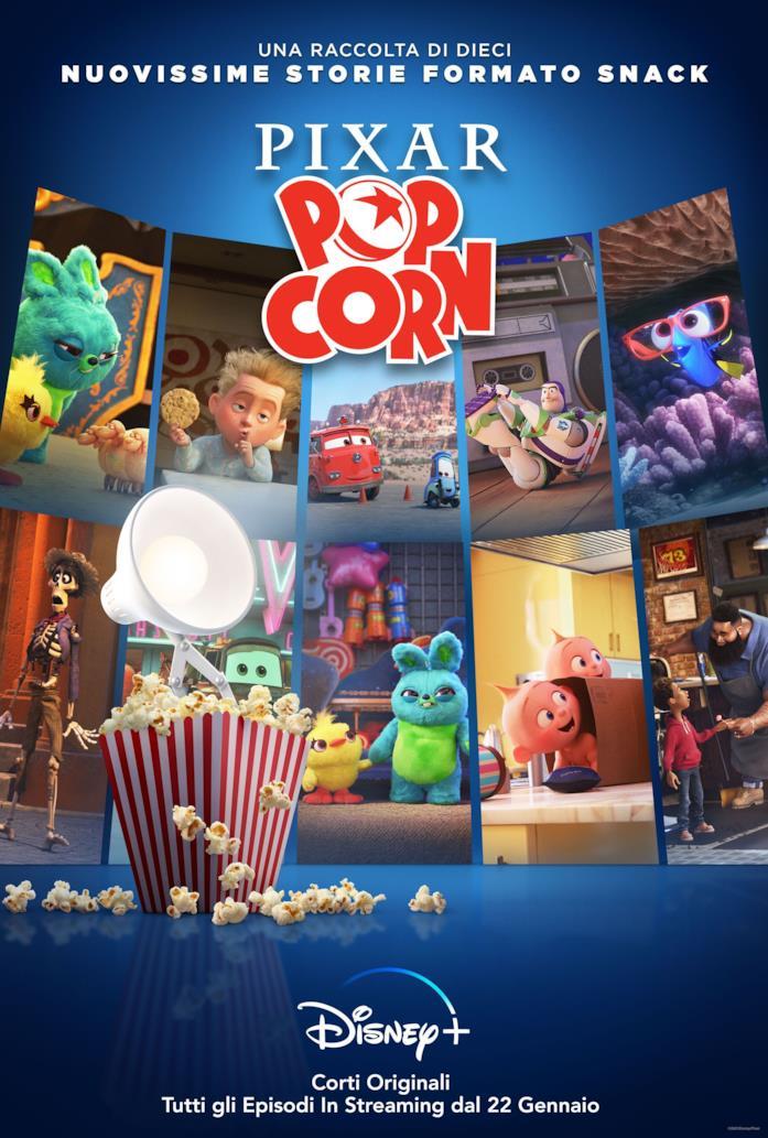 I personaggi Disney e Pixar insieme