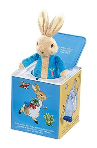 Peter Rabbit Jack in The Box By Beatrix Potter
