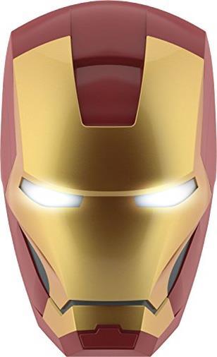 Philips Lampada da Parete Marvel Iron Man in 3D, Batterie Incluse