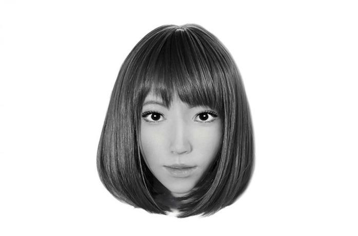Un'immagine di Erica, il robot protagonista di B