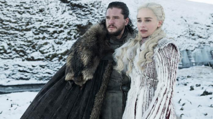 Game of Thrones 8: Jon e Daenerys nella neve