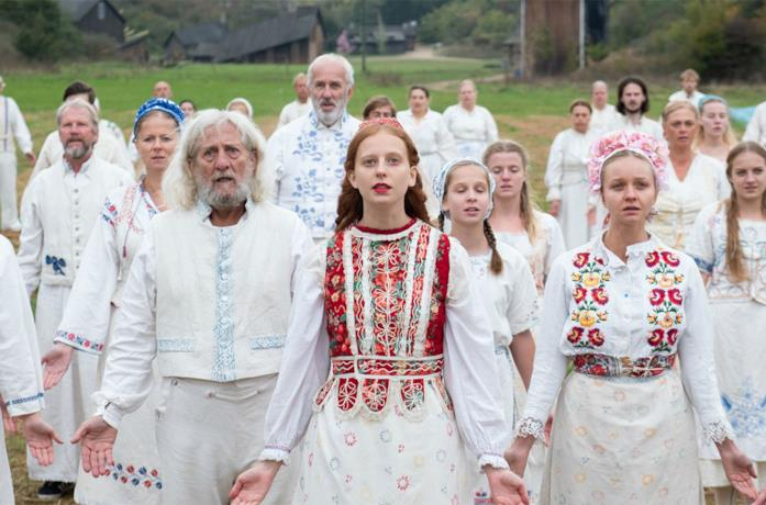 Una scena di Midsommar - Il villaggio dei dannati