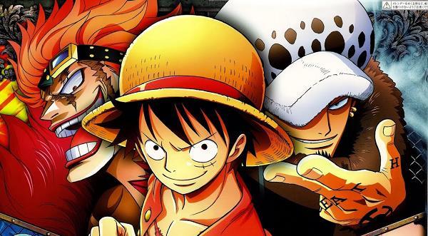 One Piece Rufy Law Kid