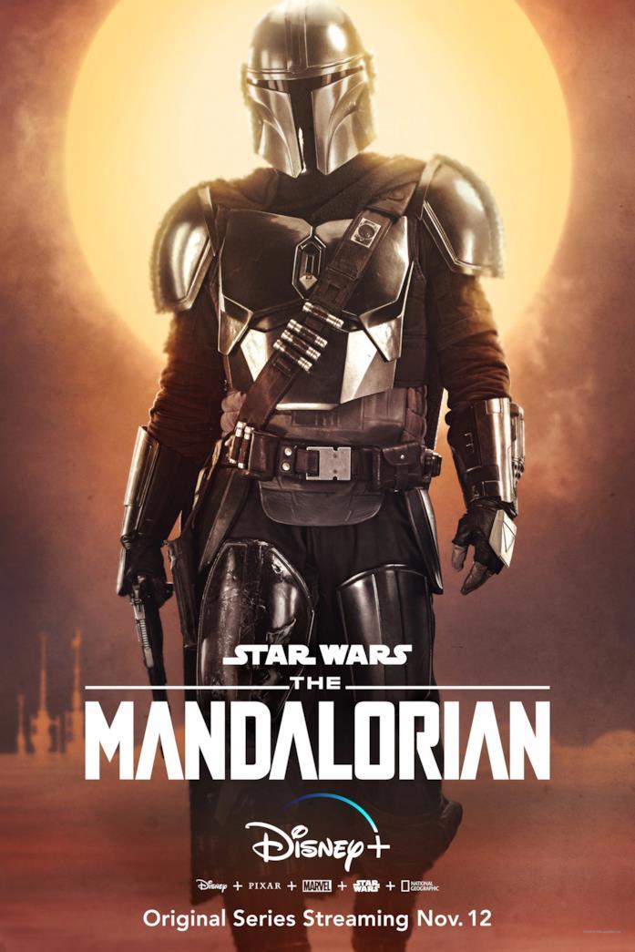 Il character poster del Mandaloriano