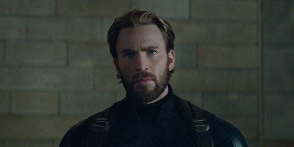 Il look di Capitan America con la barba