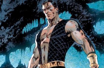 Un'immagine di Namor dai fumetti Marvel
