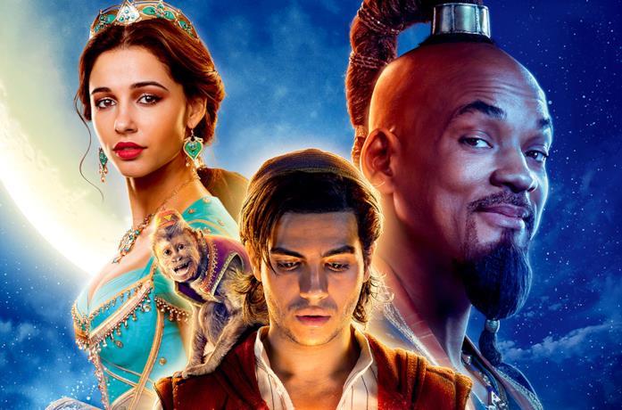 i protagonisti di Aladdin