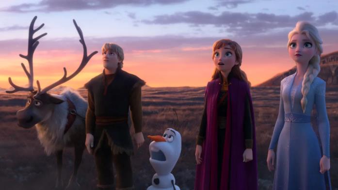 I protagonisti di Frozen II - Il segreto di Arendelle