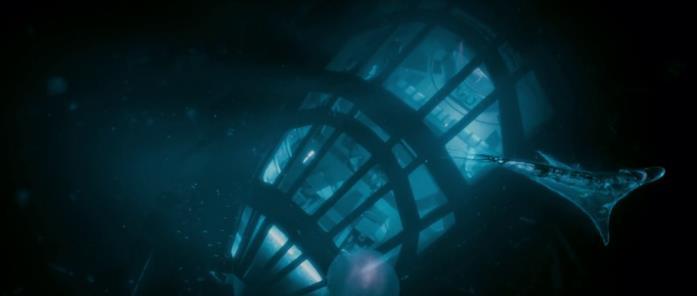 Il fondale marino di Tanis nel film Pandorum - L'universo parallelo
