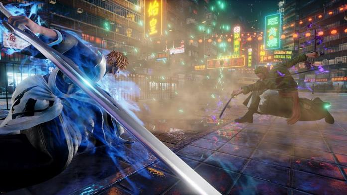 Ichigo e Zoro Jump Force