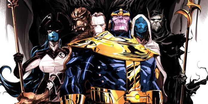 L'Ordine Nero di Thanos nei comics