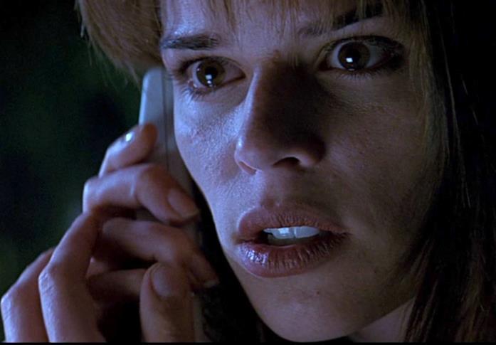 Neve Campbell nei panni di Sidney in Scream