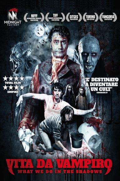 Poster Vita da vampiro - What We Do in the Shadows