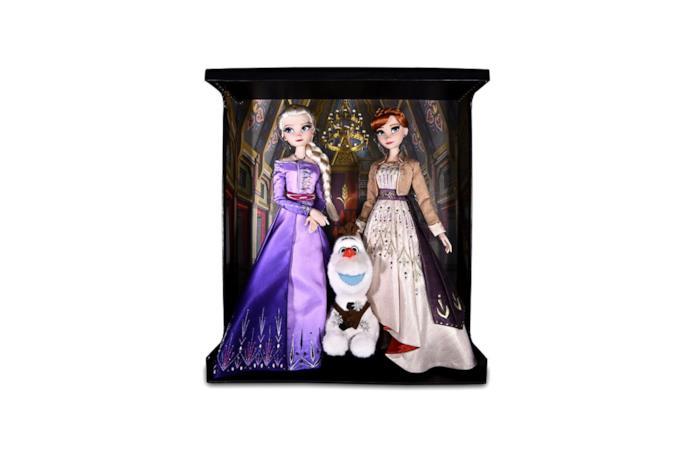 Il set di bambole Frozen 2 con Anna Elsa e Olaf Disney x Roberto Coin