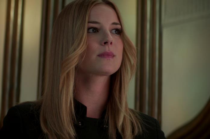 Emily VanCamp interpreta l'agente Sharon Carter