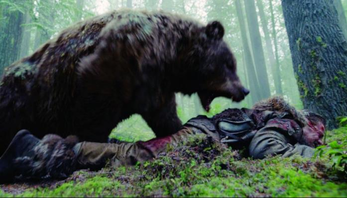 L'attacco dell'orso in Revenant