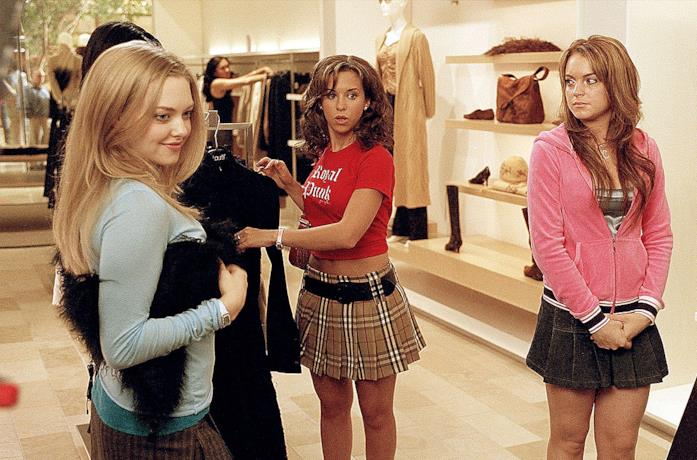 Le quattro protagoniste di Mean Girls