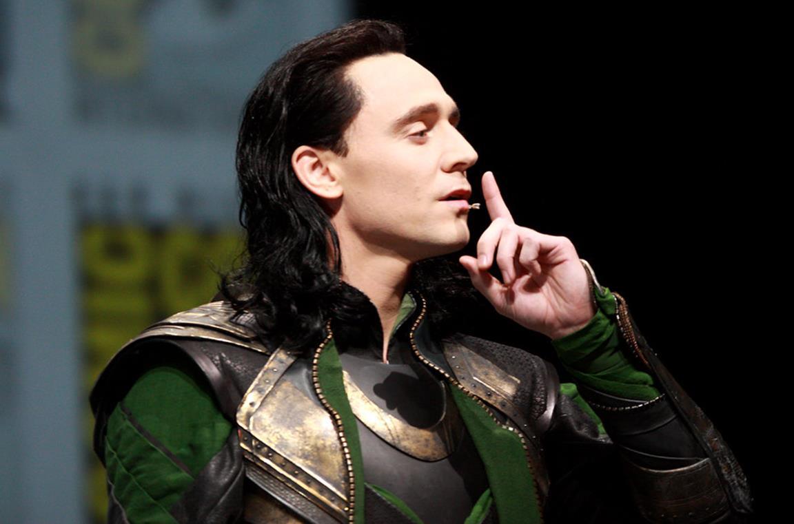 Tom HIddleston nei panni di Loki al San Diego Comic Con