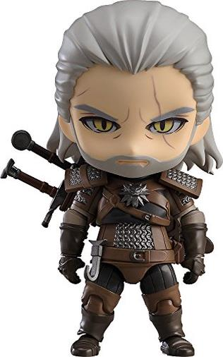 Close Up Witcher 3: Wild Hunt Nendoroid Geralt di Riva Action figure