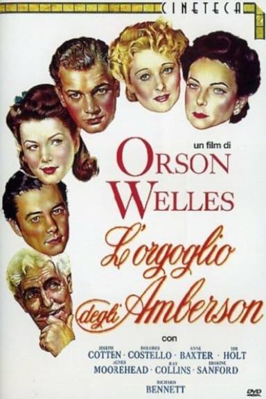 Poster L'Orgoglio Degli Amberson
