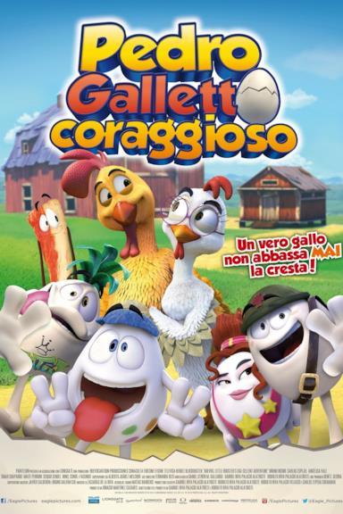 Poster Pedro - Galletto coraggioso