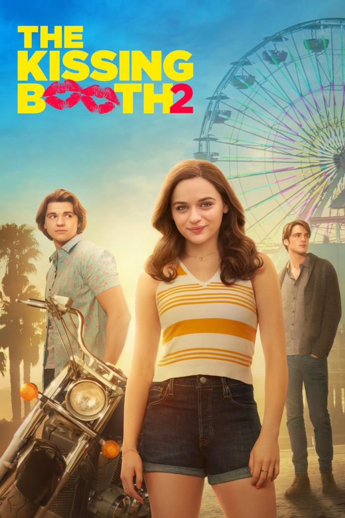 Joey King, Joel Courtney e Jacob Elordi nel poster del sequel di The Kissing Booth