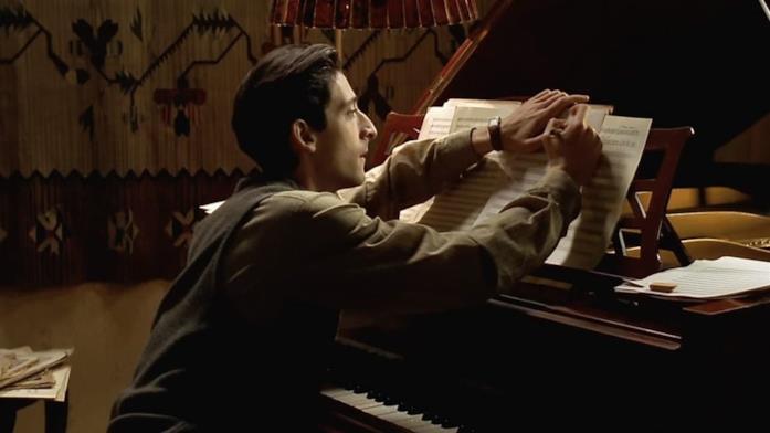 Il pianista, scena film