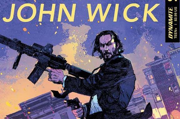 John Wick in un'immagine del nuovo fumetto