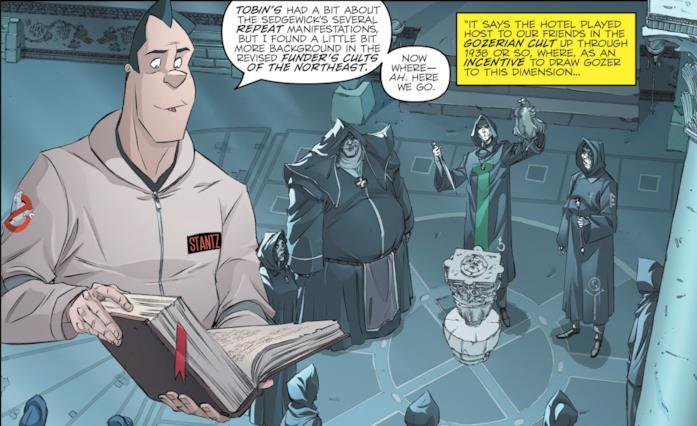 Ghostbusters, il fumetto affronta le origini del fantasma verde Slimer