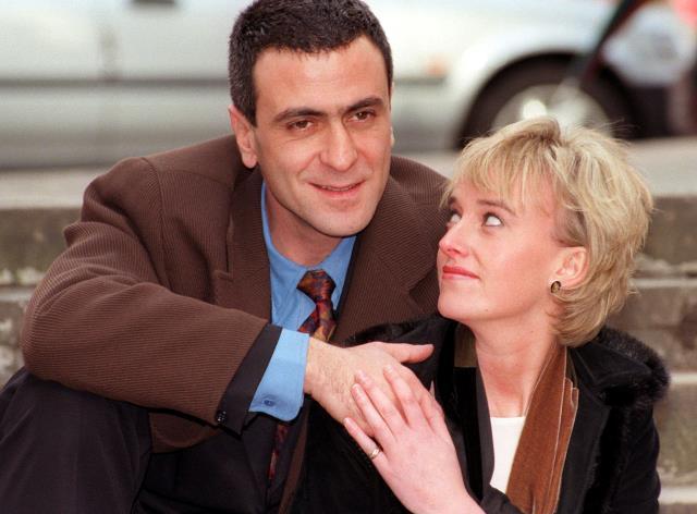 Amy Seccombe e George Jackos, protagonisti di Diana - La principessa del popolo