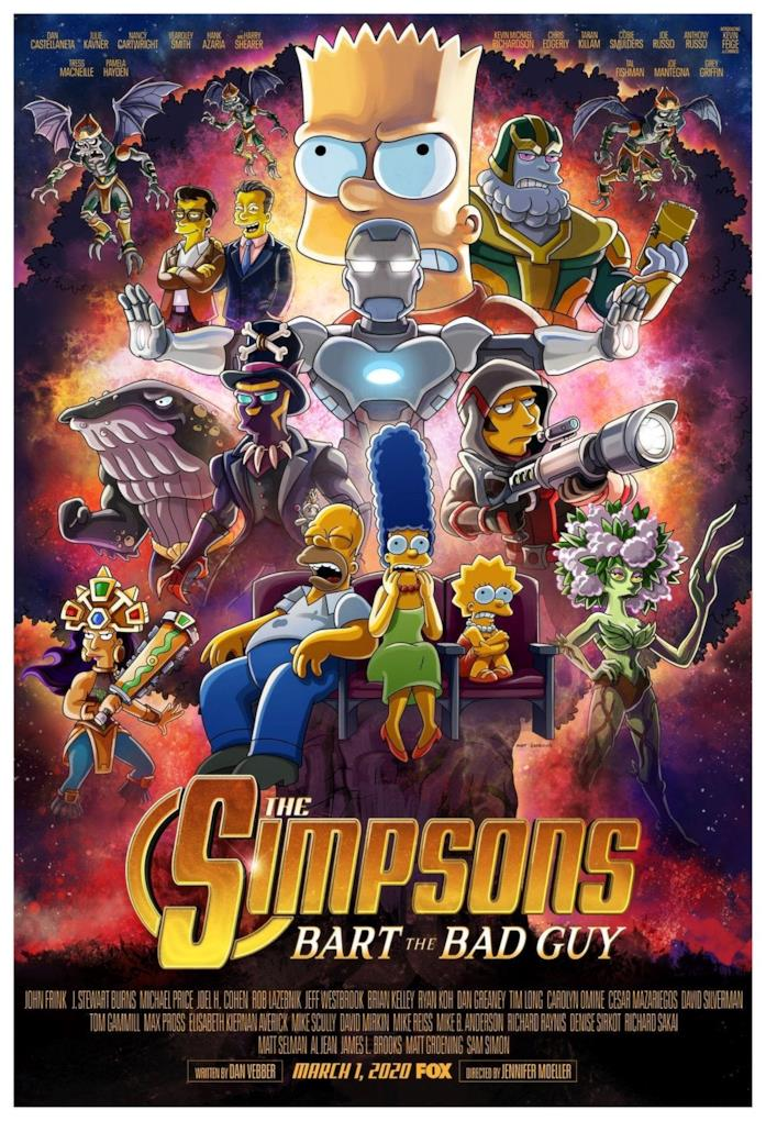 I Simpsons poster speciale per Bart The Bad Guy