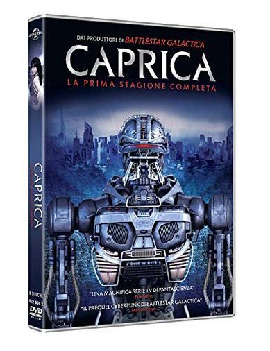 Cofanetto DVD di Caprica - Stagione 1
