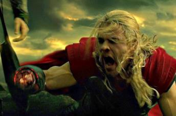Thor e Luke Skywalker