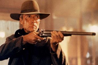 Clint Eastwood ne Gli spietati