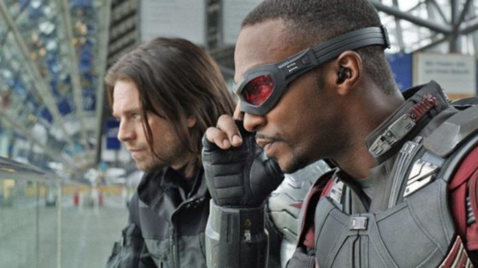 Una scena tratta da un film Marvel
