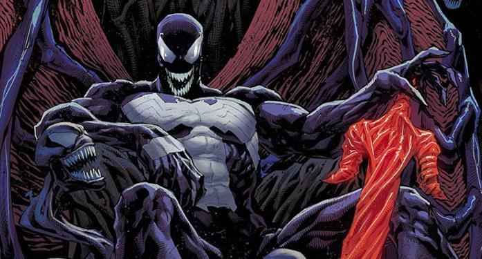 Dettaglio della cover di Venom #200