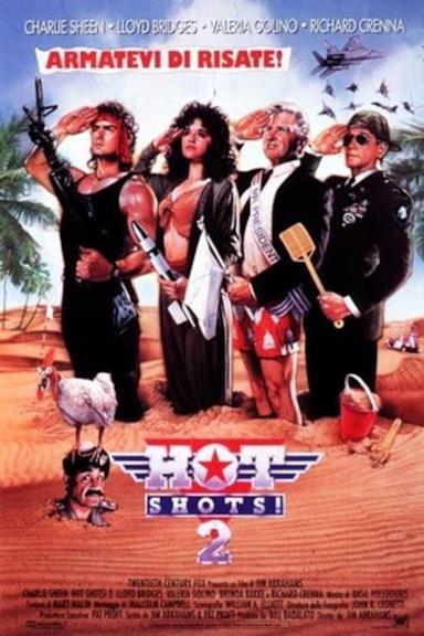 Poster Hot Shots! 2