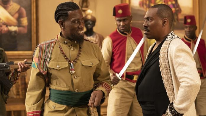 Il generale e il principe Akeem
