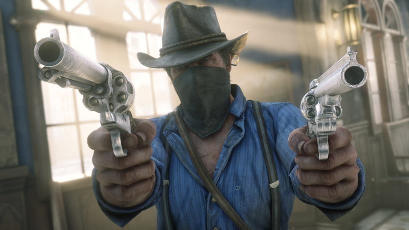 Arthur Morgan in Red Dead Redemption 2